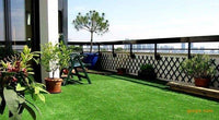 What kind of balcony artificial grass is suitable for?