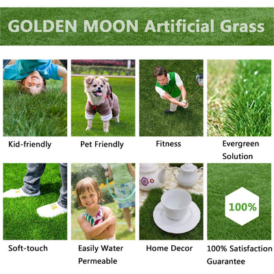 GOLDEN MOON Artificial Grass Samples