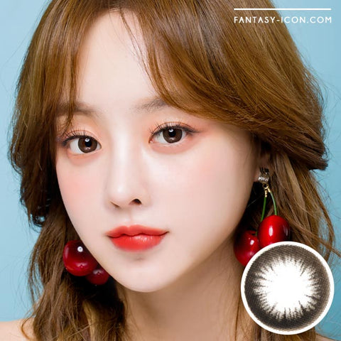 1-Day Colored Contacts Artric Tia Black - Model Cut