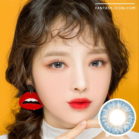 Blue 1 Day Colored Contacts Venus Artric Model