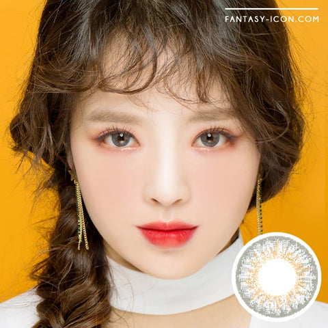 Grey 1 Day Colored Contacts Venus Artric Model