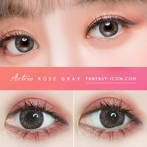 Grey 1 Day Colored Contacts Artric -Eyes Detail
