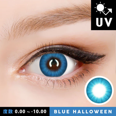 Natural Blue Contacts Halloween