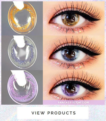 Artric Star Purple Violet Colored Contact Lenses 6