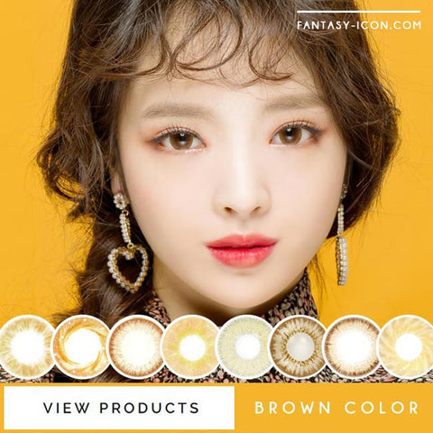 Brown Colored Contact Lenses