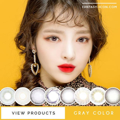 Grey Colored Contact Lenses