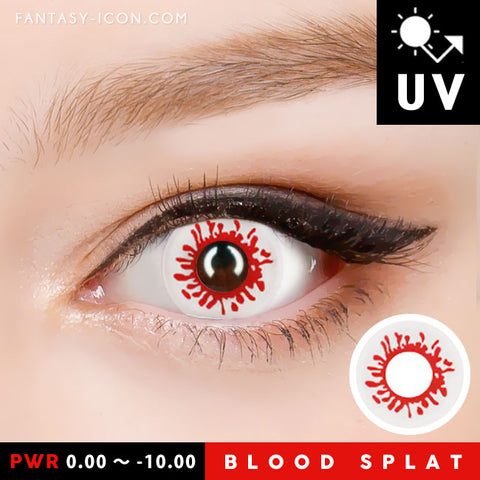 Blood Halloween Contacts