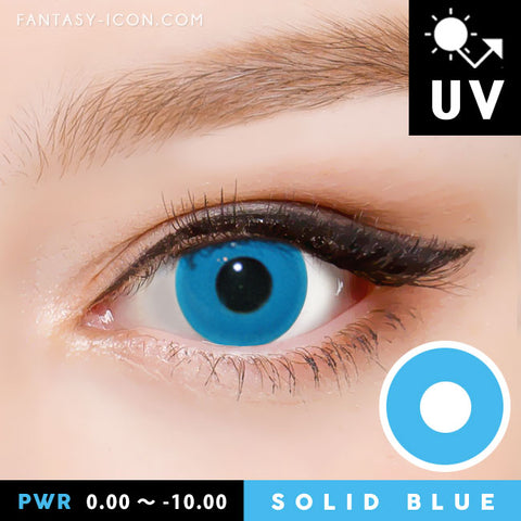 Halloween Blue Contacts