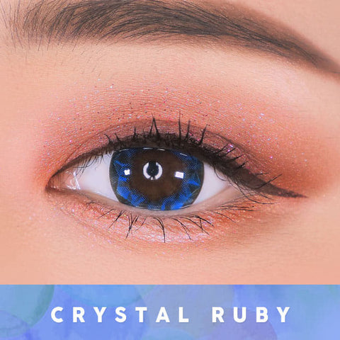 Blue Toric Lens Crystal Ruby Queen