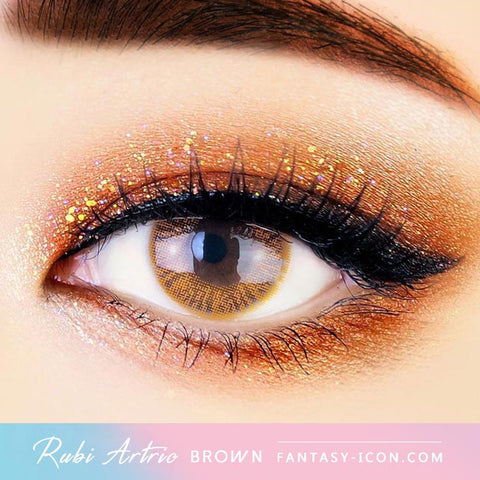 Ruby Artric Brown Colored Contacts - Eyes
