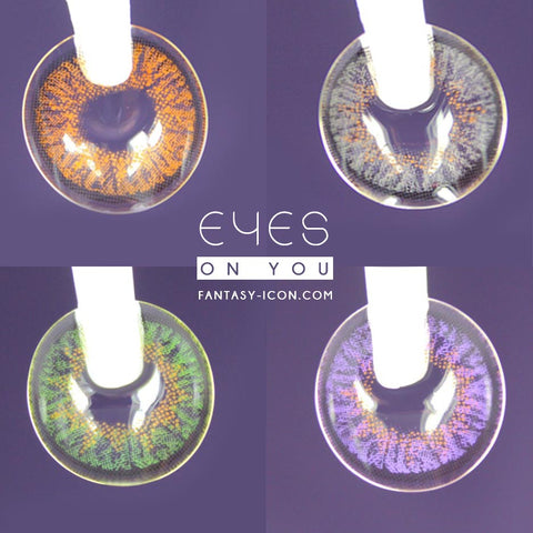 Eyes on You Colored Contacts - beautiful graphics