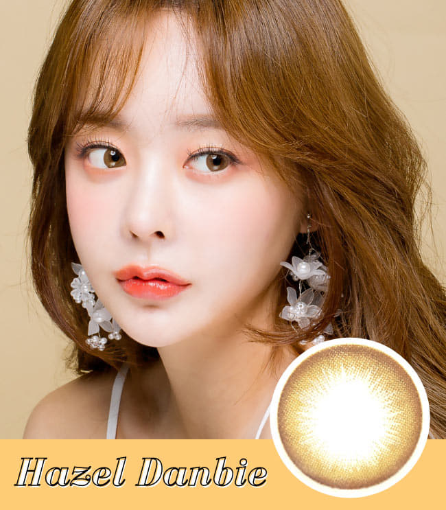 Toric Lens Danbie Brown Colored Contacts For Astigmatism model