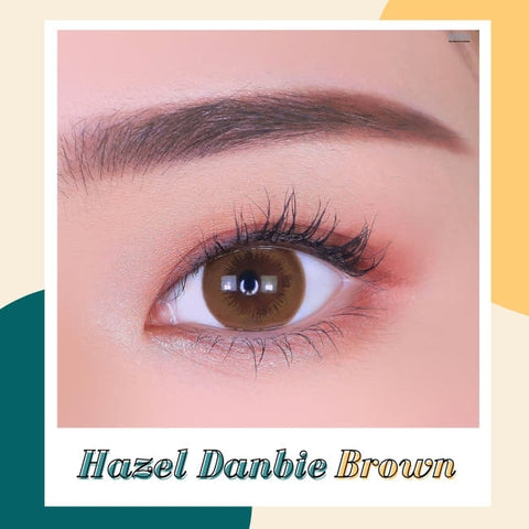 Toric Lens Danbie Brown Colored Contacts For Astigmatism detail