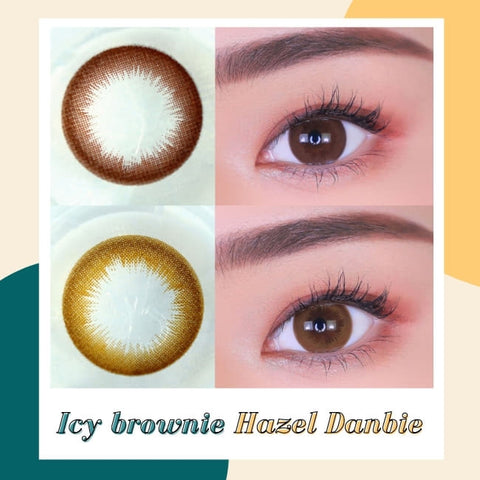 Toric Lens Brown Colored Contacts For Astigmatism