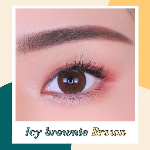 Toric Lens Brownie Brown Colored Contacts For Astigmatism detail