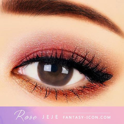 Rose JeJe Chocolate Brown Contacts - Eyes