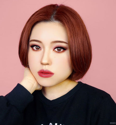 Rose JeJe Chocolate Brown Contacts Review