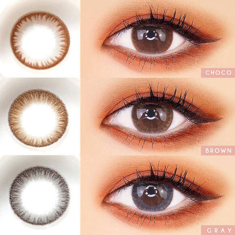 Silicone hydrogel Toric Lens Crystal Colored Contacts For Astigmatism