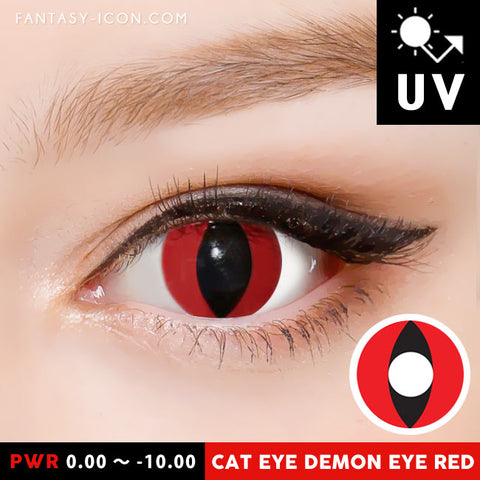 Demon Eye Red Contacts