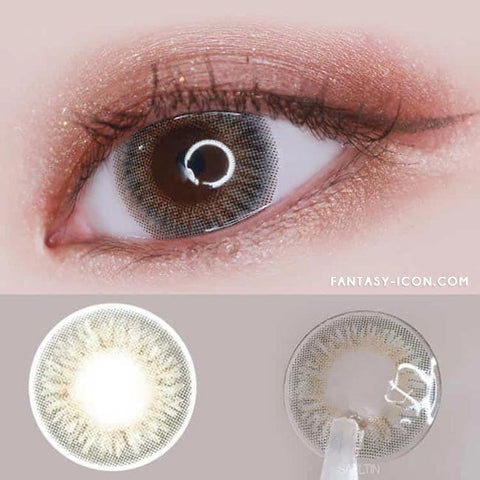 Toric Colored Contacts for Astigmatism - Elsa Diana Grey 6