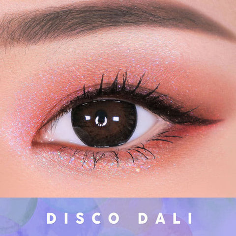 Disco Dali Brown Contacts for Hperopyia | farsightedness Eyes