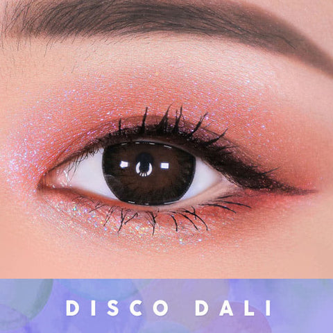 Toric Lens Disco Dali Brown   Colored Contacts For Astigmatism eyes