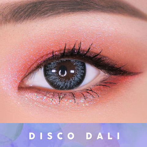 Disco Dali Gray Contacts for Hperopyia | farsightedness Eyes