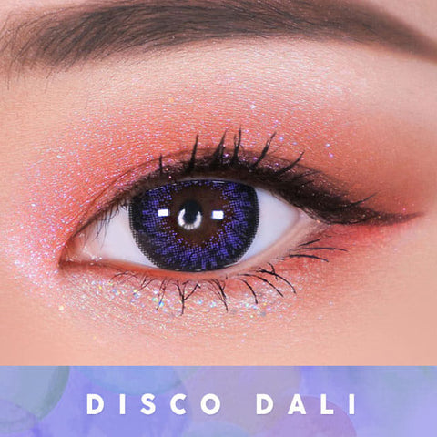 Disco Dali Violet Contacts for Hperopyia | Purple farsightedness Eyes