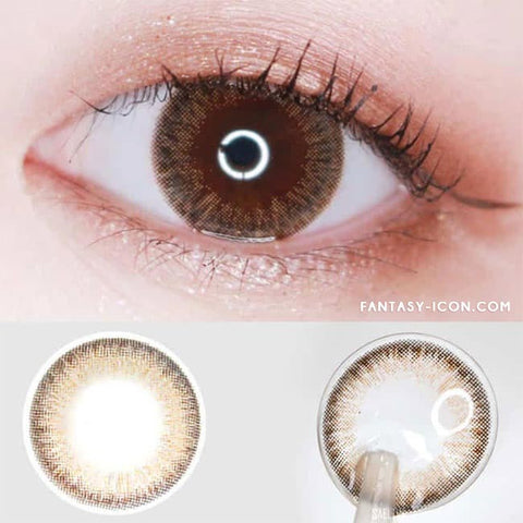 Toric Colored Contacts for Astigmatism - Espoir Aida Brown 6