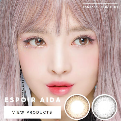 Toric Colored Contacts for Astigmatism - Espoir Aida Brown 5