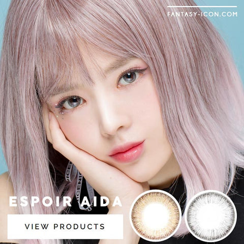 Colored Contacts For Astigmatism - Espoir Aida Grey 5