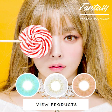 Fantasy Eye Honey Brown Colored Contact Lenses 6