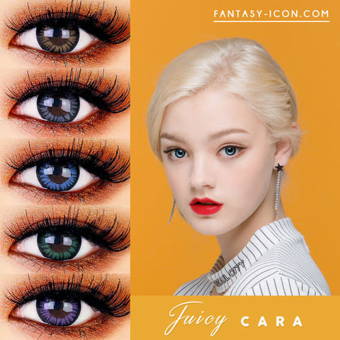 Juicy Cara Colored Contacts for Hperopyia