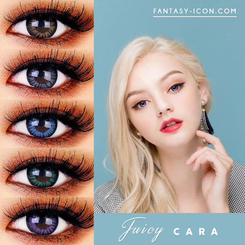 Colored Contacts for Hyperopia Juicy Cara - farsightedness