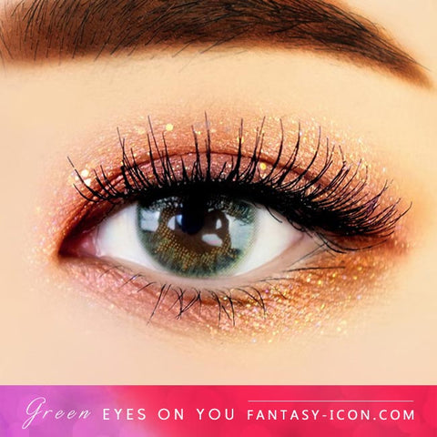 Eyes on You Green Colored Contacts - Eyes