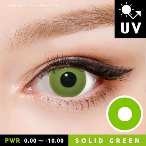 Halloween Green Contacts