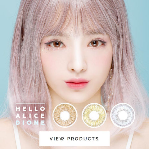 Colored Contact Lenses - Alice Dione Chocolate Brown