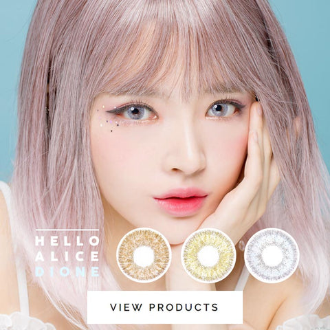 Colored Contact Lenses - Alice Dione Grey