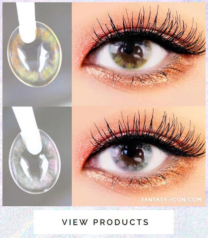 Ina Grey Colored Contact Lenses 6