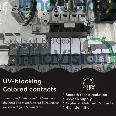 Innovision Colored Contact lenses | UV Blocking Colored Contacts