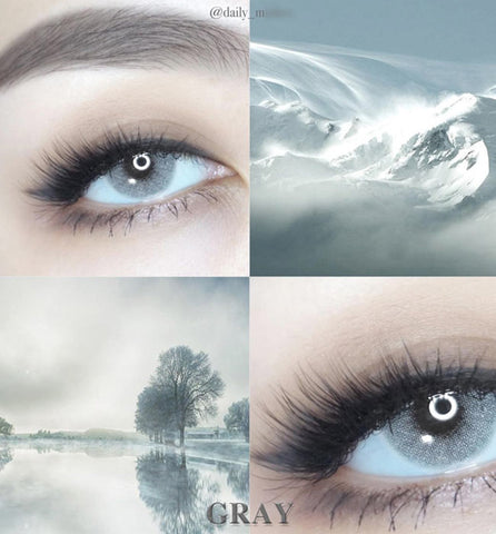 Natural Gray Colored Contacts