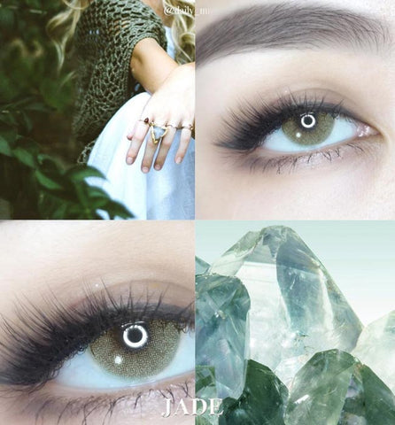 Natural Jade Colored Contacts