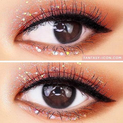 Luxury Chagall Black Colored Contacts - Colored Contacts For Astigmatism beautiful eyes