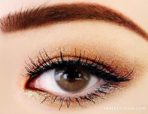 Luxury Fiore Brown Colored Contact Lenses 8