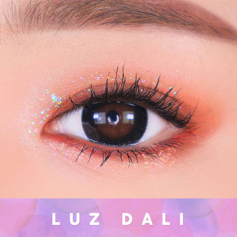 Toric Lens Luz Dali Black   Colored Contacts For Astigmatism eye detail