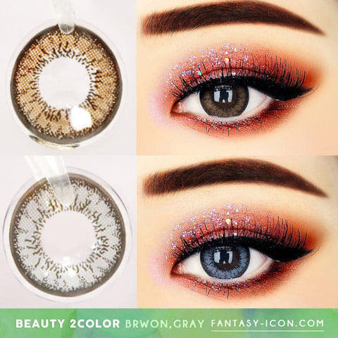 MI Beauty Two Color Contacts, Circle Lenses,