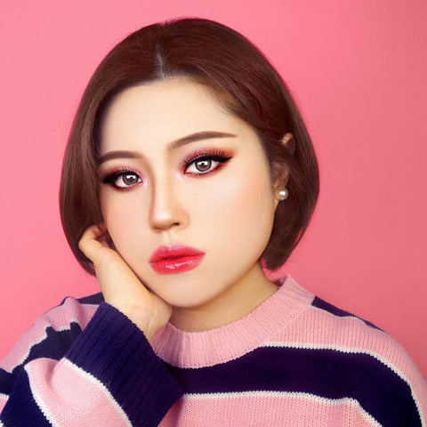 MI Beauty Two Color Brown Contacts Review