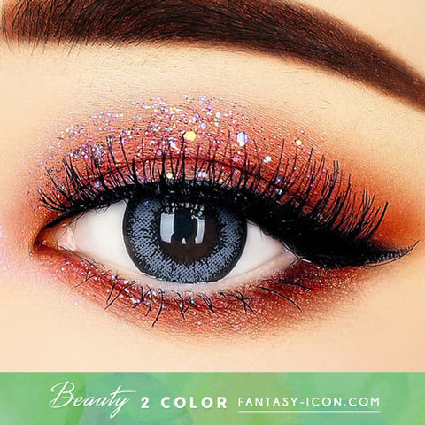 Beauty Two Color Gray Contacts