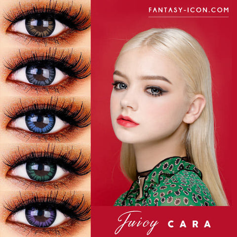 Juicy Cara Colored Contacts - Circle Lenses
