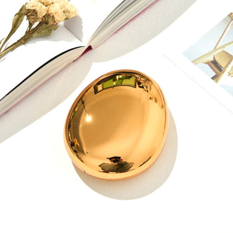 Mirror-Colorful-Contact-Lens-Case-Gold-Water-drop-Contact-Lens-Box